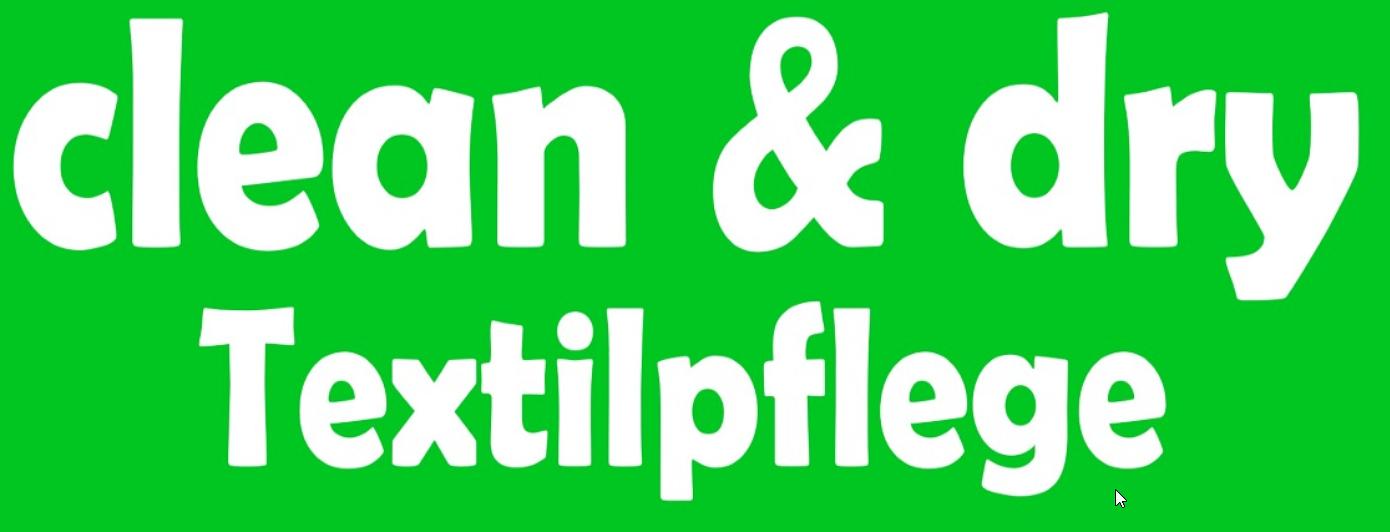 clean & dry Textilpflege Zukaj