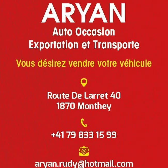 Aryan Auto Occasion Exportation Dépannage et transport