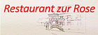 Restaurant zur Rose logo