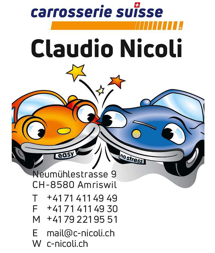 carrosserie suisse Claudio Nicoli