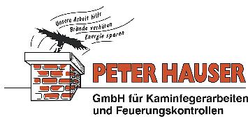 Peter Hauser GmbH für Kaminfegerarbeiten und Feuerungskontrollen