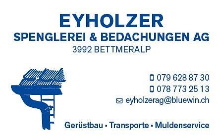 EYHOLZER Spenglerei & Bedachungen AG