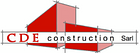 CDE Construction logo