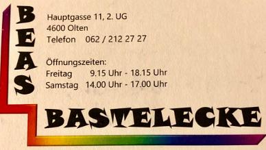 Bea's Bastelecke Beatrice Brunner