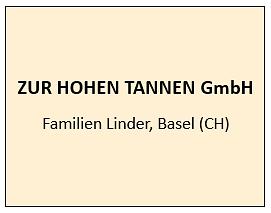 Zur Hohen Tannen GmbH