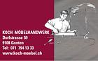 Koch Möbelhandwerk AG