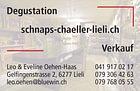 Schnaps Chäller Lieli + Coiffeur Eveline