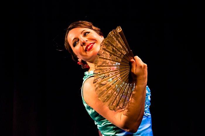 Flamenco-Tanz Sina de Alicia