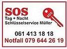 SOS Schlüssel- Schlossservice 24 Std. Notfall- Pikettdienst