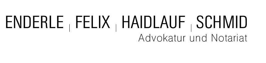 Advokatur + Notariat Enderle Felix Haidlauf Schmid