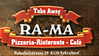 Ra-Ma Take Away, Taskale logo