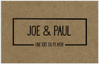 Joe & Paul logo