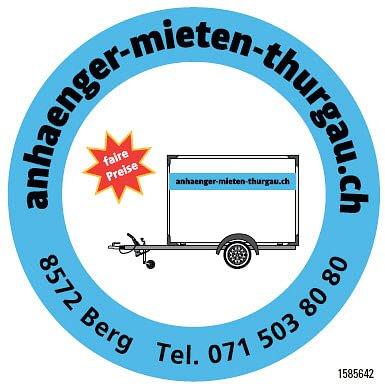 Anhänger - Mieten - Thurgau