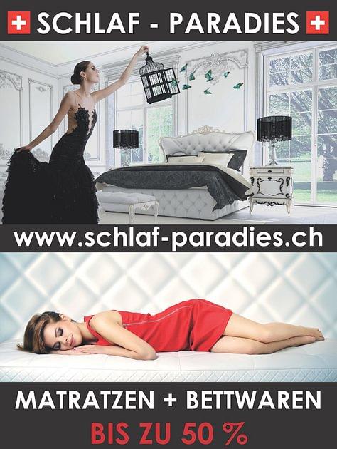 schlaf paradies in hinwil adresse ffnungszeiten auf. Black Bedroom Furniture Sets. Home Design Ideas