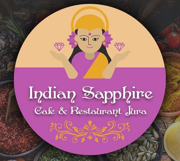 Indian Sapphire - Café & Restaurant Jura