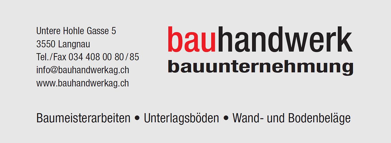 Bauhandwerk AG Langnau