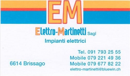 Elettro-Martinetti Sagl