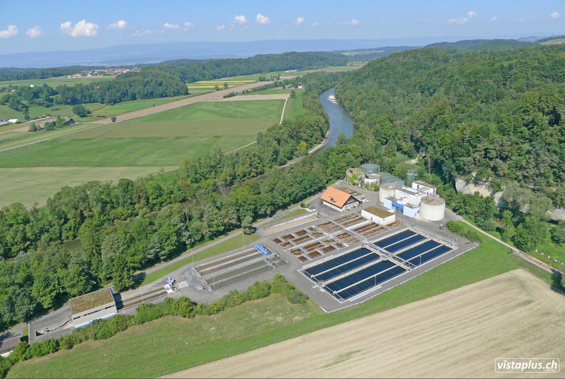 Abwasserreinigungsanlage Region Sensetal