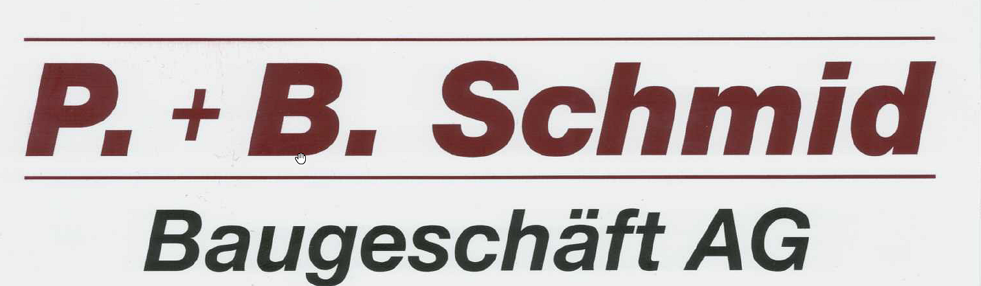 P. + B. Schmid Baugeschäft AG