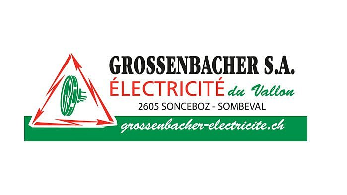Grossenbacher SA Electricité du Vallon