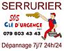 SOS CLE D'URGENCE 7j/7 24h/24 sàrl