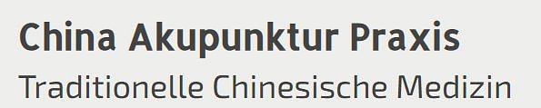 China Akupunktur Praxis