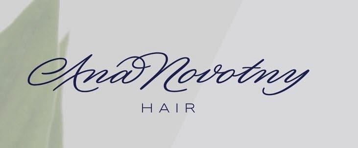 Ana Novotny Hair
