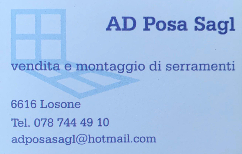 AD Posa Sagl