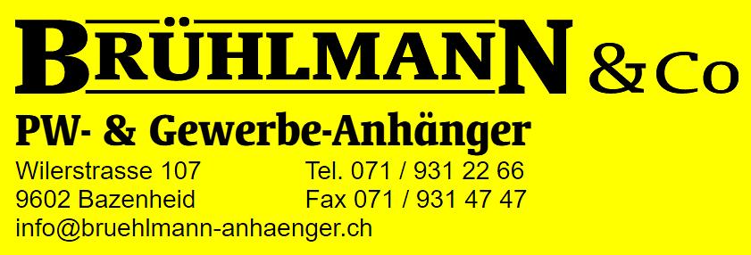 Brühlmann + Co., PW- & Gewerbeanhänger