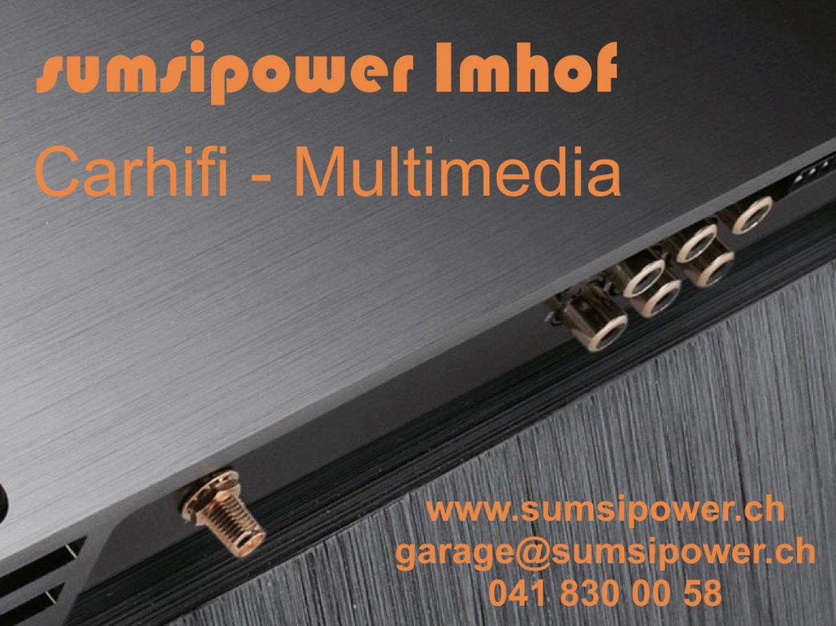 sumsipower Imhof Car Hifi-Multimedia