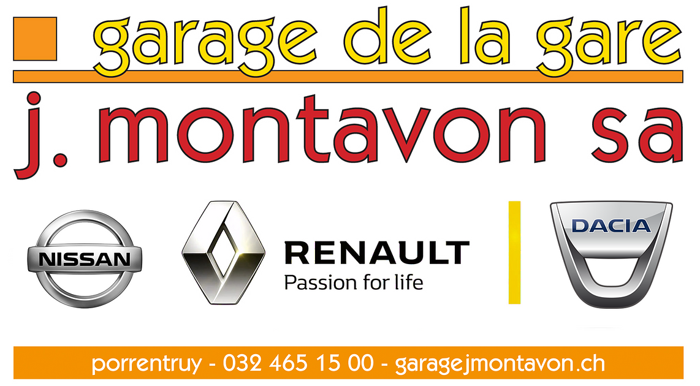 Garage de la gare j montavon sa in porrentruy adresse for Garage renault arles route de tarascon