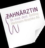 Dr. med. dent. Bettina Hartmann-Kirschke AG