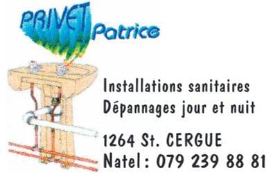 Sanitaire - Privet Patrice