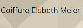 Coiffure Elsbeth Meier