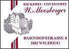 Bäckerei - Conditorei Moosberger