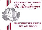Bäckerei - Conditorei Moosberger