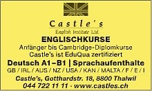 Castle's English Institute Ltd