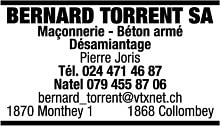 Bernard Torrent SA