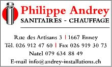 Philippe Andrey Installations Sanitaires et Chauffage SA