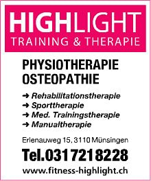 Highlight TRAINING & THERAPIE AG