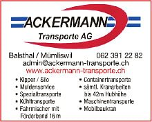 ACKERMANN TRANSPORTE AG