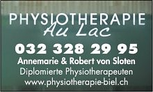 Physiotherapie Biel-Bienne GmbH - Physio & Fitness au Lac