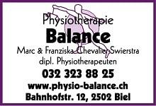 Balance Physiotherapie Test- u. Trainingscenter