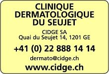 Clinique Dermatologique du Seujet, CIDGE SA