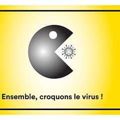 """Ensemble, croquons le virus !"""