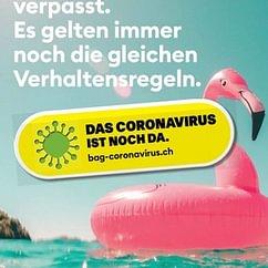 Das Coronavirus ist noch da!