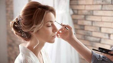 Braut make up
