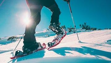 Schneeschuhlaufen-Ausrüstung
