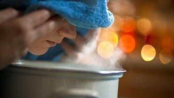 Dampf inhalieren für schöne Haut