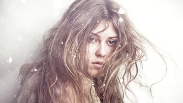 Trockene Haare und Haut im Winter